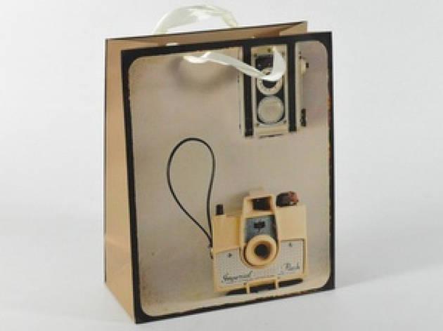 Подарочный пакет Фотокамера 32 см, фото 2