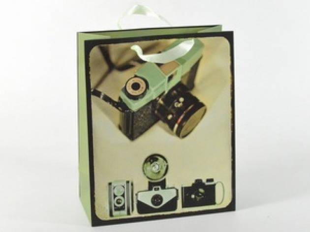 Подарочный пакет Вспышка 32 см, фото 2