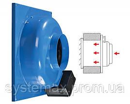 ВЕНТС ВЦ-ВН 100 (VENTS VC-VN 100) круглый канальный центробежный вентилятор, фото 2