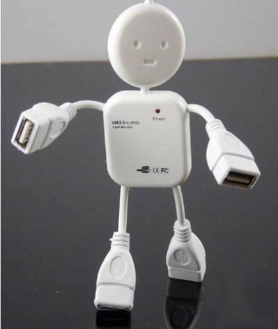 USB хаб Человечек , фото 2