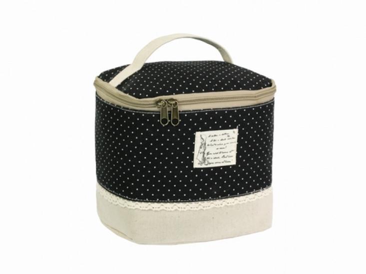 Косметичка-сумочка Бохо Assise black
