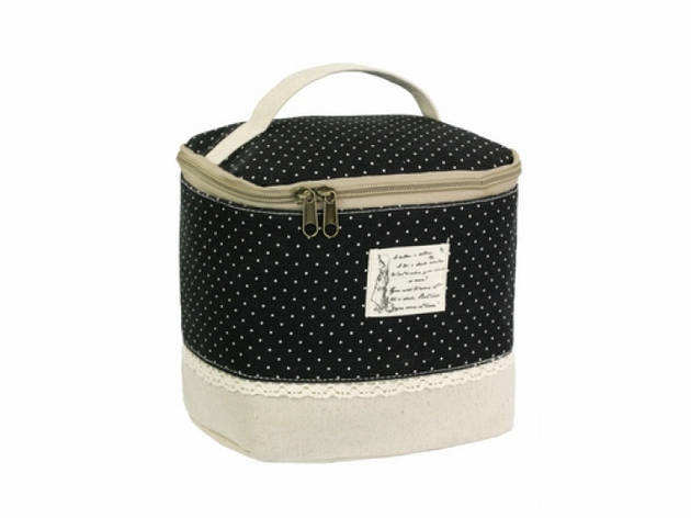 Косметичка-сумочка Бохо Assise black, фото 2