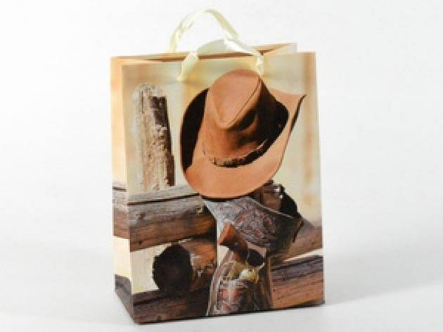 Подарочный пакет Дикий Запад 23см, фото 2