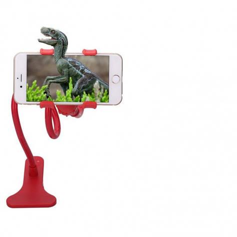 Подставка для телефона с вращающейся 360 Красный, фото 2