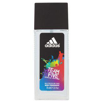 Освіжаючий спрей для тіла Adidas Team Five 75мл.