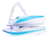 Санки Plastkon Skidrifter белые с голубым