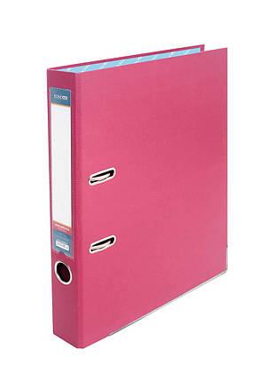 Папка-реєстратор Economix 39720*-09, А4, 50 мм, рожевий (зібрана), фото 2