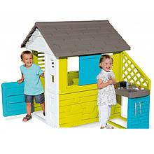 Детский домик Smoby 810703 Pretty UV с летней кухней