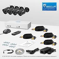 Комплект видеонаблюдения «установи сам» Страж Смарт-4 4У (УЛ-700К-4)