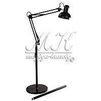 Лампа дополнительного освещения, напольная, черная