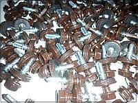 Саморезы для профнастила цвет серебристый металлик