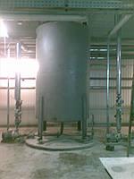 Бункерные весы НПВ 7т для взвешивания масла