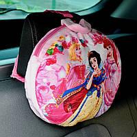 Рюкзак-подушка ребенку в машину Princesses с принцессами