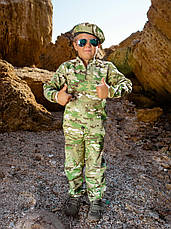 Детский камуфляж костюм для мальчиков Зарница цвет Мультикам, фото 2