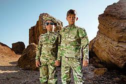 Детский камуфляж костюм для мальчиков Зарница цвет Мультикам, фото 3