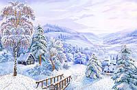Набор для вышивания бисером Зимняя сказка НКП-2-002