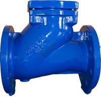 Обратный канализационный шаровый клапан
