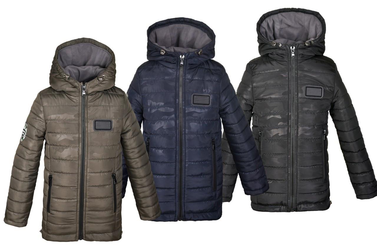 bbe2eaa9932 Зимняя куртка-парка для мальчика на флисе - Детская и подростковая верхняя  одежда PLeseS в
