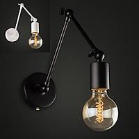 Настенно-потолочный светильник [ Color Series Vintage Loft ]  ( VL- 4 чёрный / белый ), фото 1