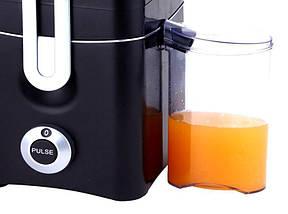 Соковыжималка Schtaiger SHG-716, емкость для сока, 800Вт, 2 режима., фото 3