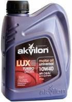 Масло AKVILON LUXD10W40 1л  полусинтетическое