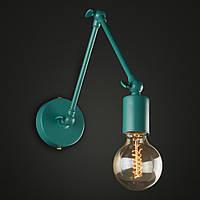 Настенно-потолочный светильник [ Color Series Vintage Loft ]  ( VL- 4  бирюзовый ), фото 1