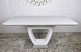 Стол обеденный TORONTO 160/210*90 матовое стекло белый Nicolas (бесплатная доставка), фото 4