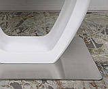 Стол обеденный TORONTO 160/210*90 матовое стекло белый Nicolas (бесплатная доставка), фото 6