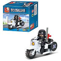 "Конструктор SLUBAN M38-B0325 ""Полицейский мотоцикл"" 24 детали"