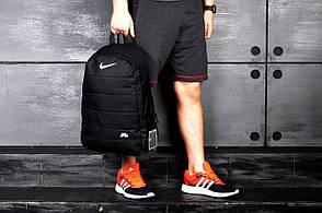 Городской спортивный рюкзак в стиле Nike Air черный, фото 3