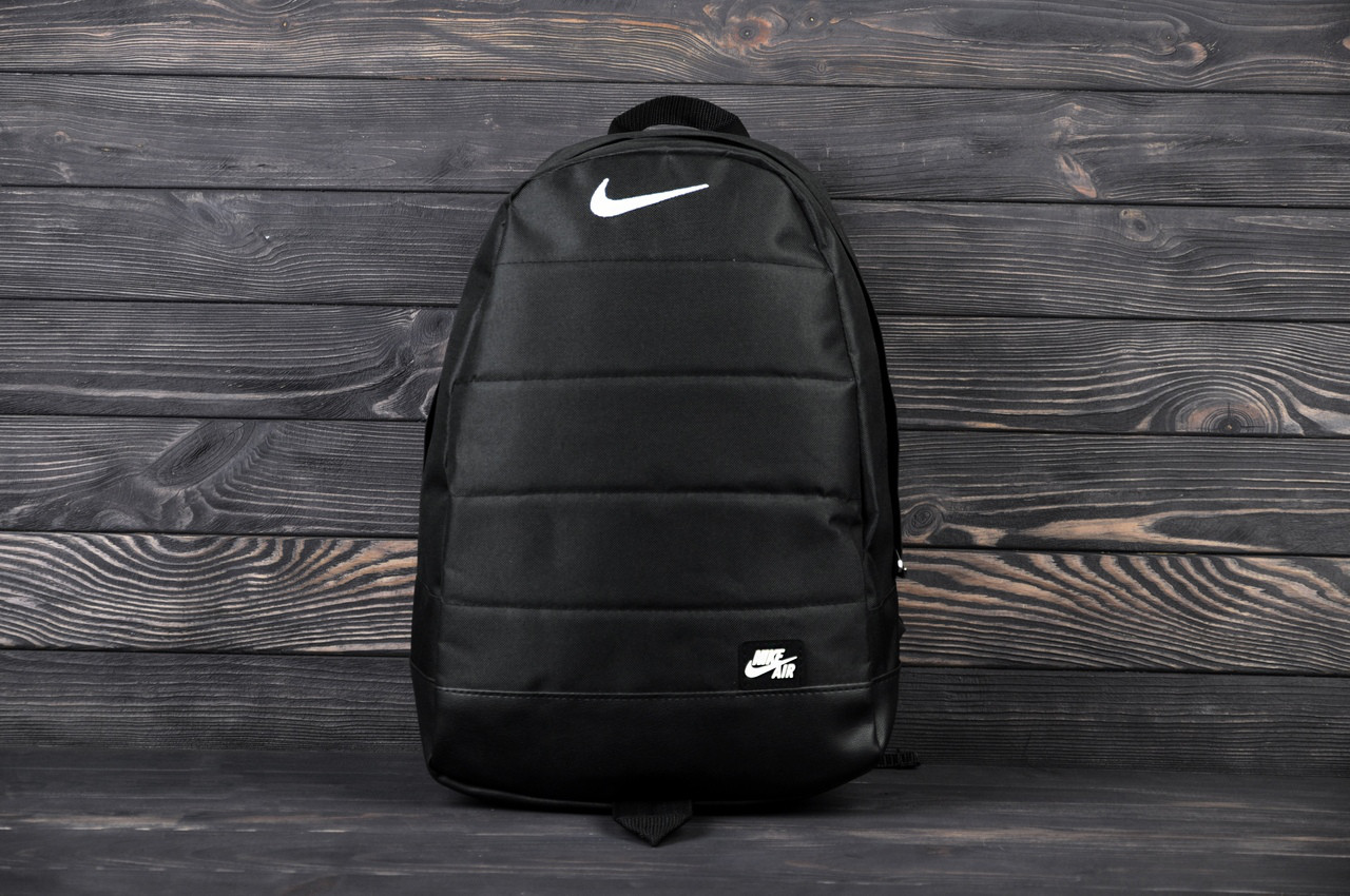 Городской спортивный рюкзак в стиле Nike Air черный
