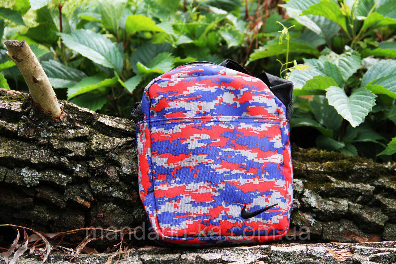 Мужская  городская сумка разноцвет Nike (Найк)  (реплика)