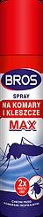 Аэрозоль от комаров и клещей 90 мл Bros MAX