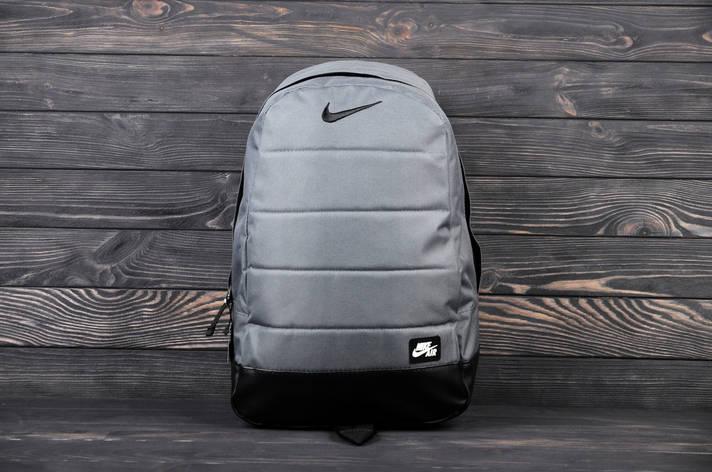 Городской спортивный рюкзак в стиле Nike Air серый, фото 2