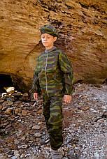 Детский камуфляж игровой костюм для мальчиков БОЕЦ цвет Флора, фото 3