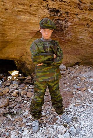 Детский камуфляж игровой костюм для мальчиков Следопыт цвет Флора, фото 2