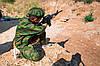 Детский камуфляж игровой костюм для мальчиков БОЕЦ цвет Флора