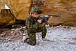 Детский камуфляж игровой костюм для мальчиков Следопыт цвет Флора, фото 4