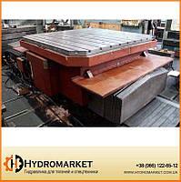 Поворотный стол ПС-25 грузоподъемностью 25 тонн Тяжстанкогидропресс