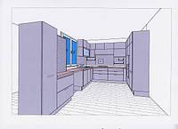 3-Д проект кухни бесплатно