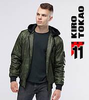 11 Kiro Tokao | Осень бомбер 362 зеленый