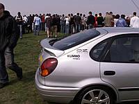 Спойлер на багажник для Toyota Corolla Liftback