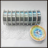 Проволока медная диам. 0,5 мм цвет серебро .(упаковка 10 бобин), фото 2
