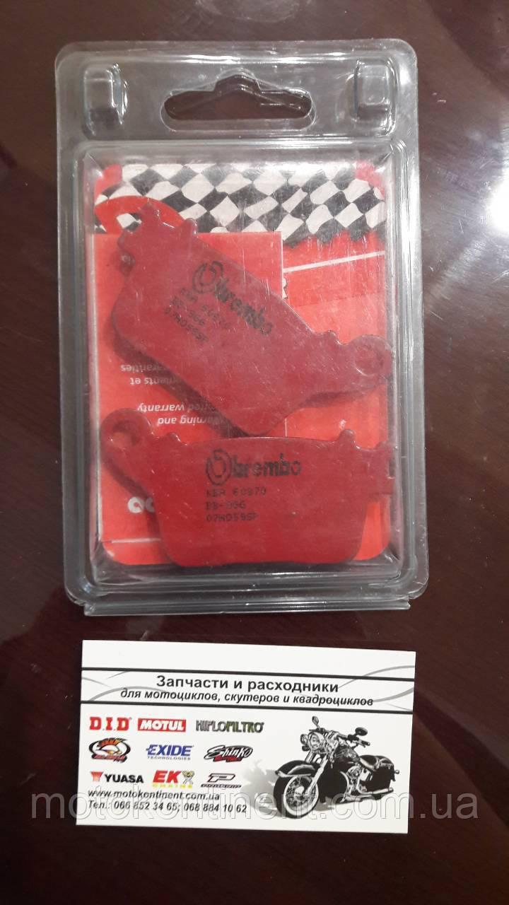 Тормозные колодки BREMBO 07HO59SP pзадняя синтетика для HONDA CBR 1000 RR,KAWASAKI ZX-10R,SUZUKI GSX-R