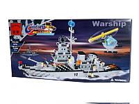 Конструктор BRICK 208885/112, боевой корабль, отличный подарок мальчику