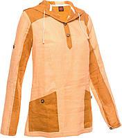 Рубашка женская льняная Turbat Lima, XS желтый