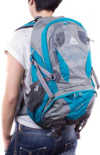 Рюкзак спортивный молодежный 32 л. Onepolar W1550-biruza бирюзовый