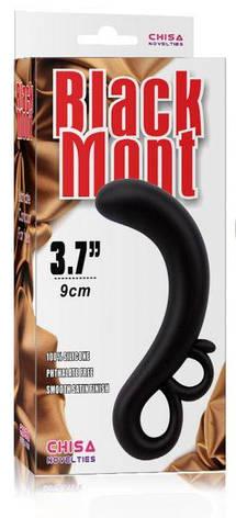 Стимулятор простаты Black Mont 3.7, черный, фото 2