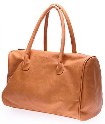 Женская сумка-саквояж из кожзаменителя POOLPARTY pool87-beige-PU