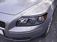 Реснички (накладки фар) для Volvo S40, V50 с 2005
